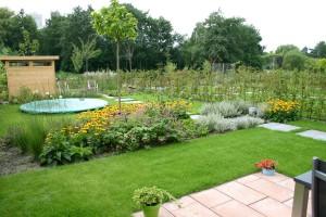 Tuinontwerp voorbeeld van Diemelgroenvoorzieningen in Den Hoorn (ZH)