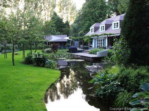 Tuinontwerp luxe tuin voorbeeld van Diemelgroenvoorzieningen in Oostvoorne