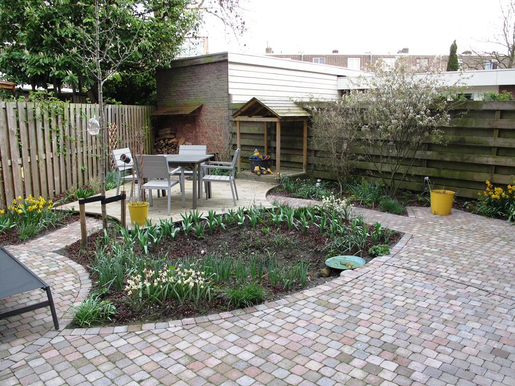 Levende tuin in Delft
