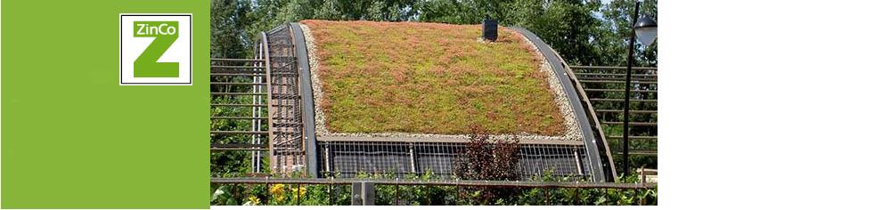 Groendak van partner van Diemelgroenvoorziengen : ZinCo  Bron foto : ZinCo.nl
